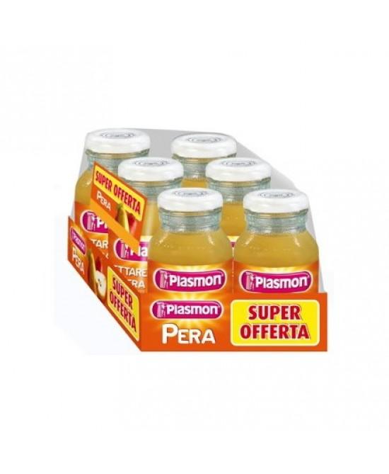Plasmon Nettari Di Frutta Pera 6x120ml - Parafarmaciabenessere.it