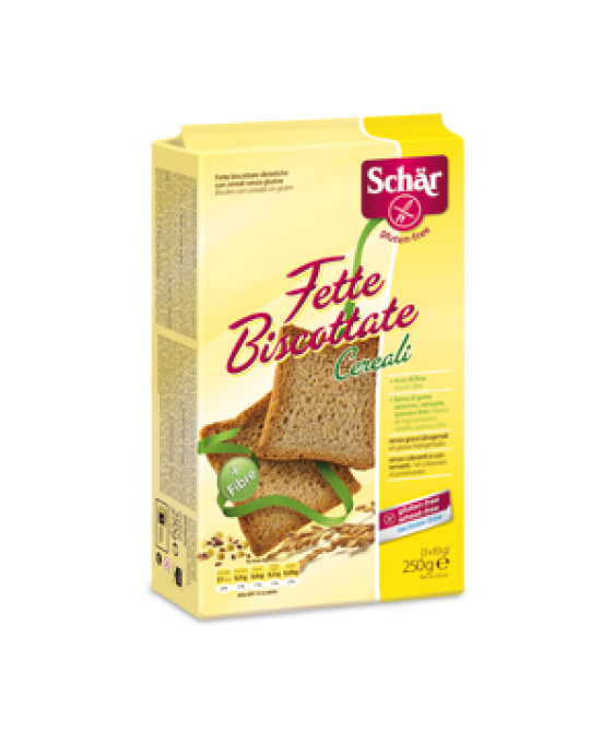 Schar Fette Biscottate Con Cereali Senza Glutine 250g - farma-store.it