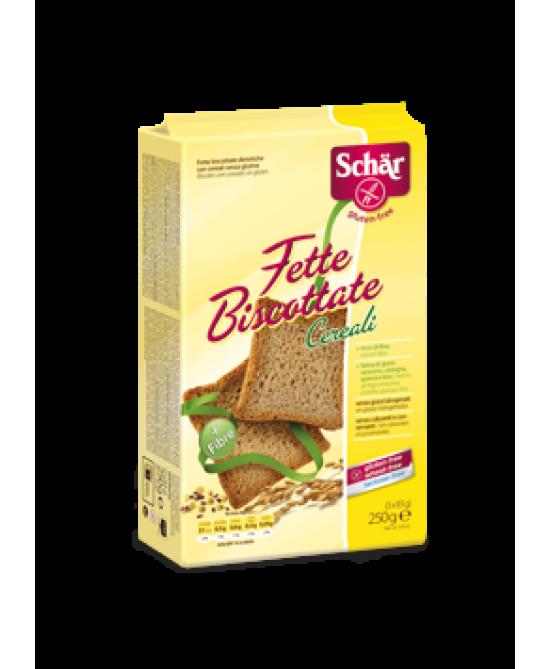 Schar Fette Biscottate Con Cereali Senza Glutine 250g - Zfarmacia