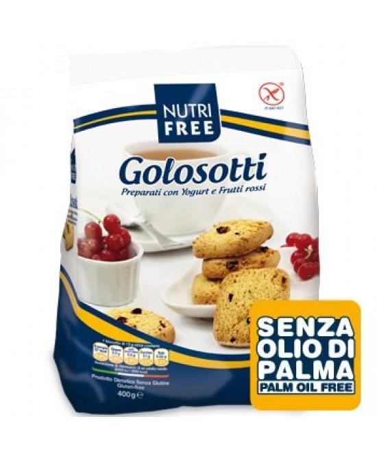 Nutrifree Biscotti Golosotti Yogurt E Frutti Rossi Senza Glutine 400g - Zfarmacia