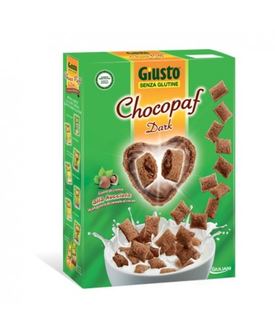 Giusto Chocopaf Dark Cereali Senza Glutine 300g - Farmawing