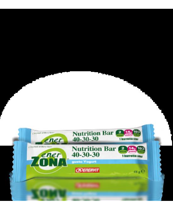 EnerZona Nutrition Bar 40-30-30 Gusto Yogurt  48 grammi - La tua farmacia online