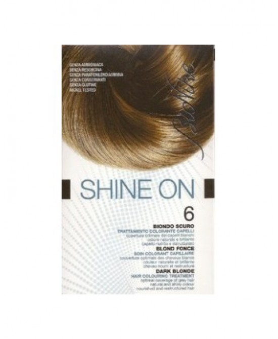 BioNike Shine On Trattamento Colorante Capelli Biondo Scuro 6 - Farmapc.it