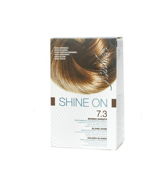 BioNike Shine On Trattamento Colorante Capelli Biondo Dorato 7.3 - farma-store.it
