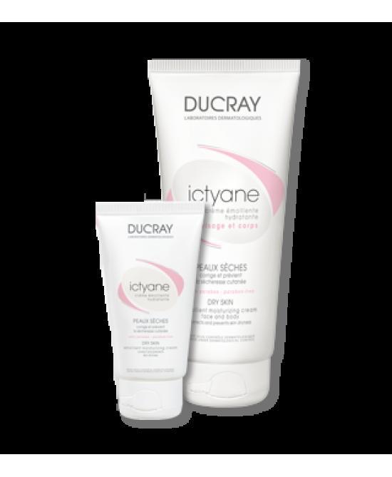 Ducray Ictyane Crema Emolliente Pelle Secca 50ml - Farmamille