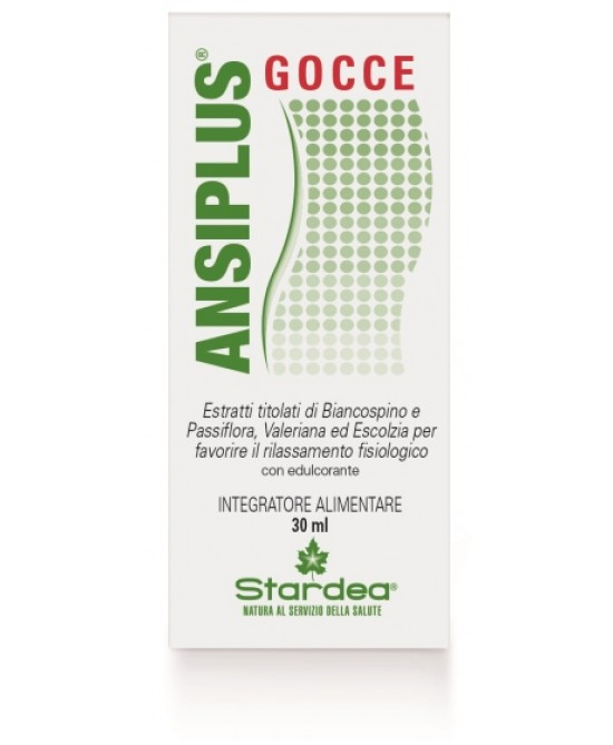 ANSIPLUS GOCCE 30 ML - Farmapc.it