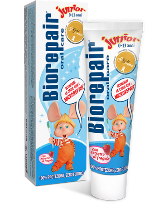 Biorepair Oral Care Junior 0-13 Anni Dentifricio 75ml - La tua farmacia online