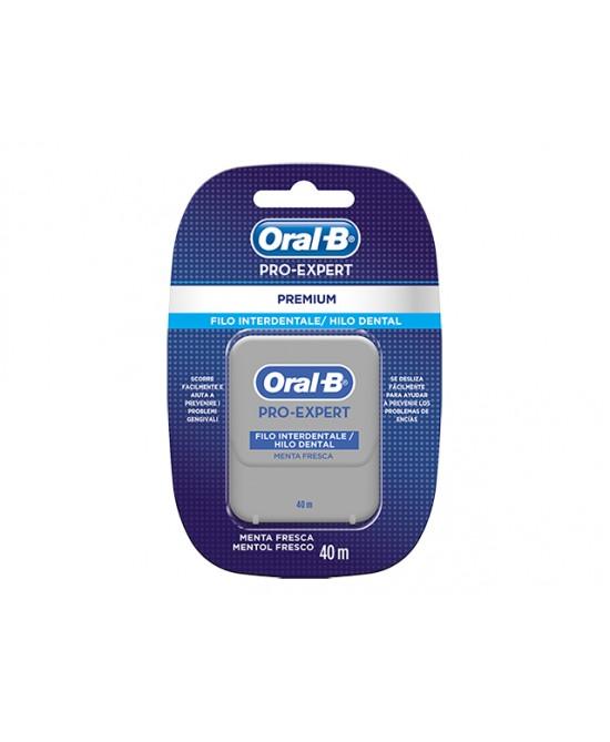 Oral-B  Pro-Expert Filo Interdentale Menta Fresca 40m - Antica Farmacia Del Lago