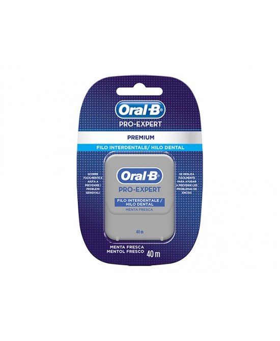 Oral-B Pro-Expert Filo Interdentale Menta Fresca 40 metri - La tua farmacia online
