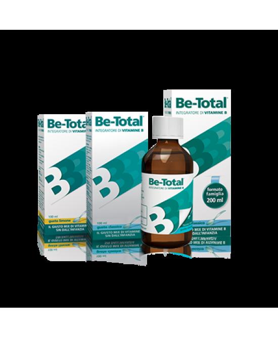 Be-Total Sciroppo Classico Integratore 200ml - La tua farmacia online