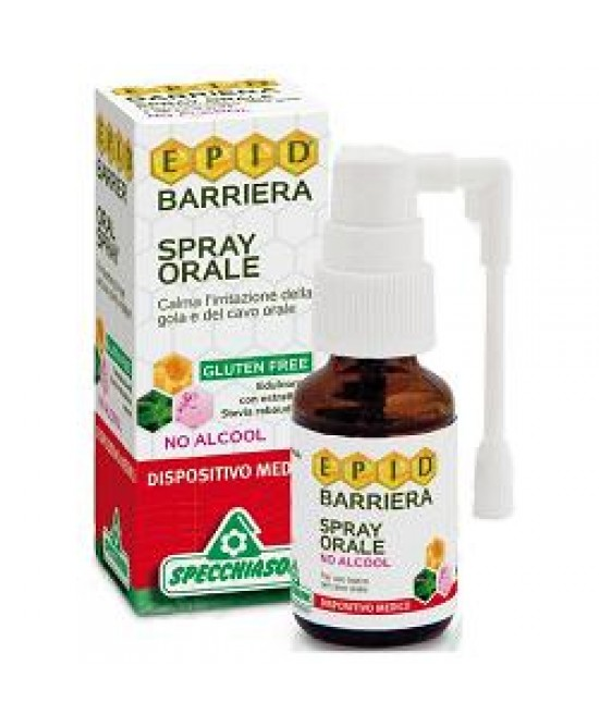Specchiasol Epid Barriera Spray Orale No Alcool 15 ml - La tua farmacia online