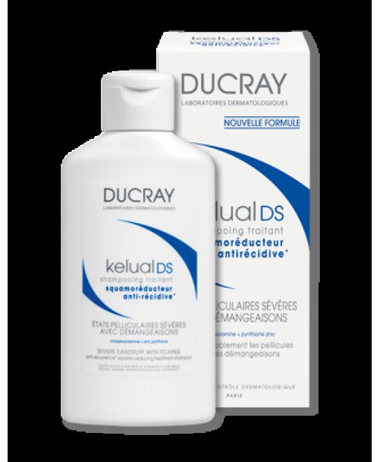 Ducray Kelual DS Shampoo Trattamento Riequilibrante Forfora Grassa 100 ml - La tua farmacia online