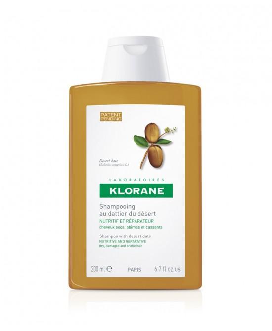 Klorane Shampoo Al Dattero Del Deserto 200ml - Farmamille
