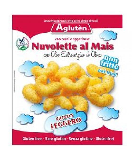Agluten Nuvolette Al Mais Con Olio Extravergine Di Oliva Senza Glutine 45g - FARMAPRIME