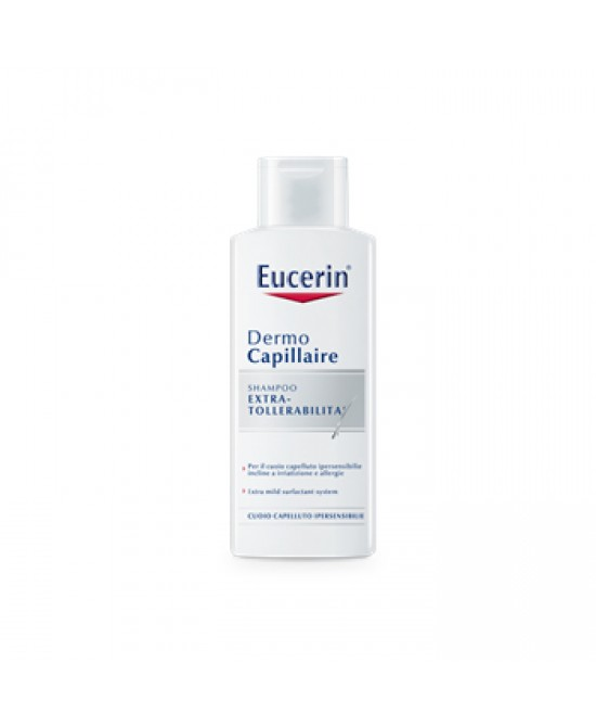 Eucerin DermoCapillaire Shampoo Extratollerabilità - Farmastar.it