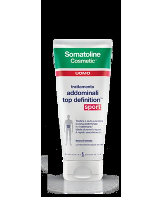 Somatoline Cosmetic Uomo Top Definition Sport 200ml - Farmabravo.it