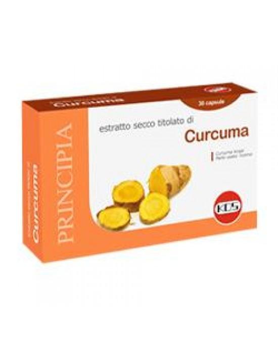 Curcuma Estratto Secco 30cps - FARMAEMPORIO