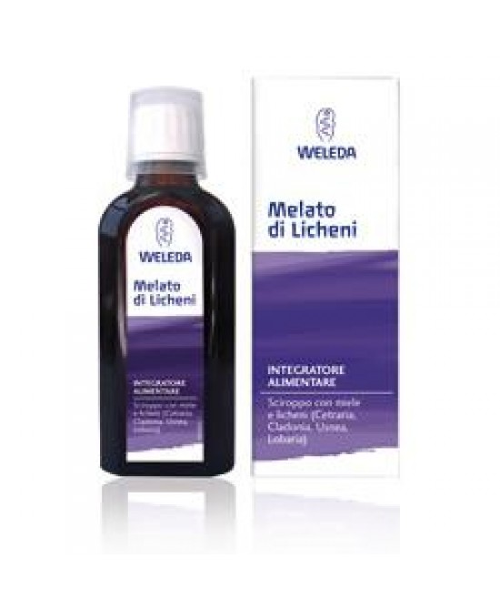 Melato Licheni Sciroppo 100ml - Farmastar.it