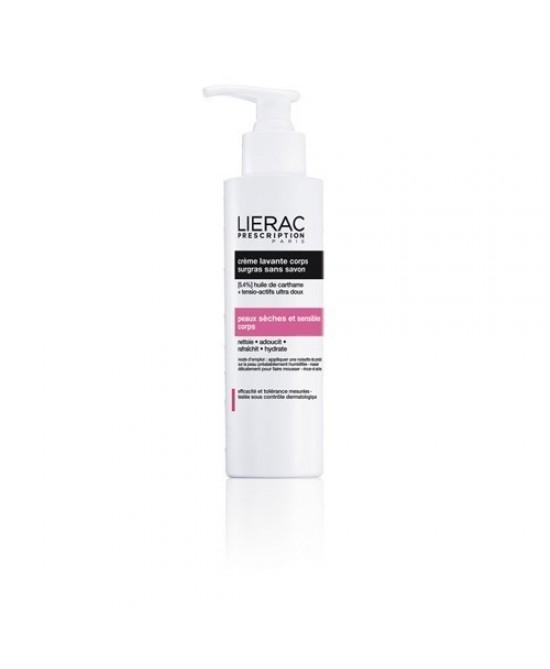 Lierac Prescription Crema Lavante Corpo Relipidante Senza Sapone 200ml - FARMAEMPORIO