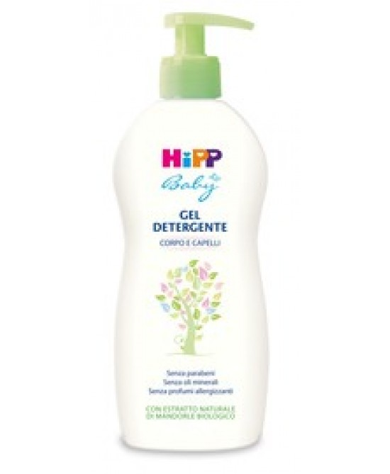 Hipp Baby Gel Detergente Corpo e Capelli 400ml - Farmajoy