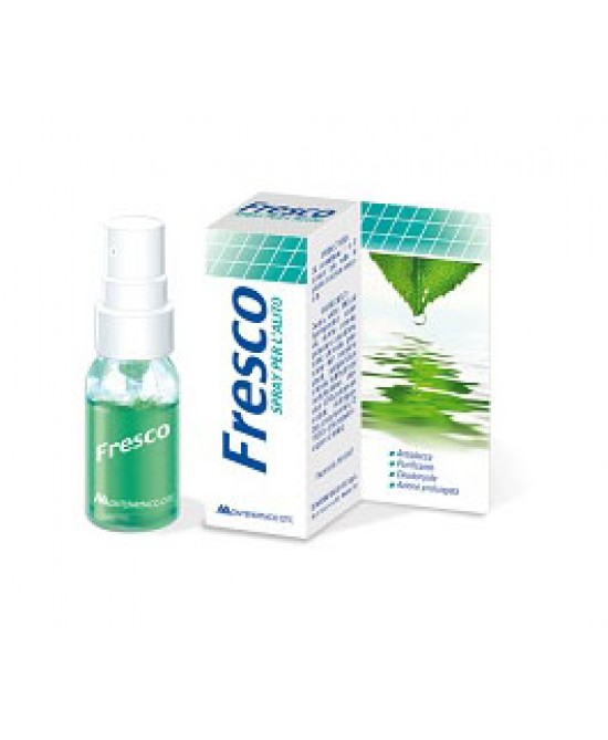Fresco Spray Per L'Alito 15ml - Farmacia 33