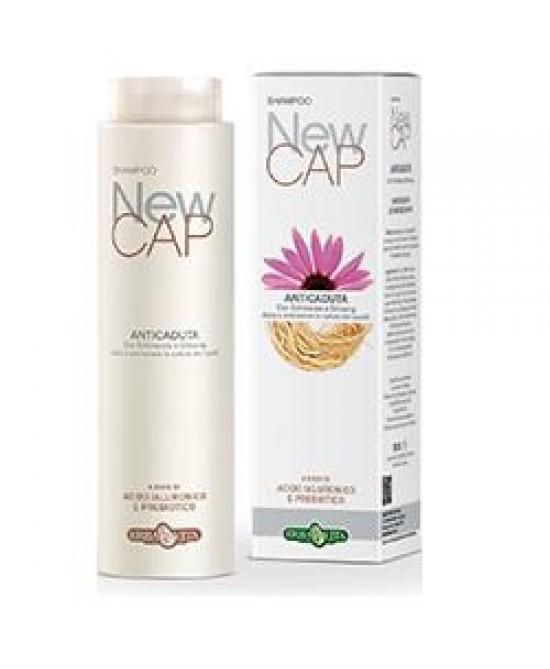 ErbaVita  Linea NewCap  New Cap Shampoo Anticaduta 250ml - FARMAEMPORIO