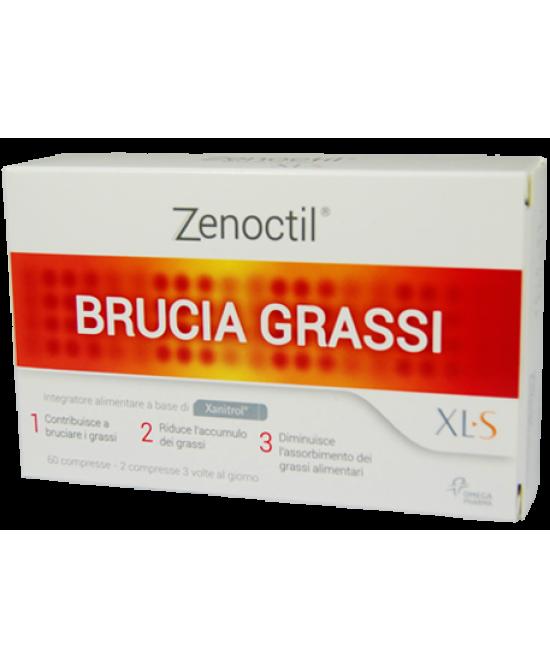 XLS Linea Controllo del Peso Zenoctil Brucia Grassi Integratore 60 Compresse - La tua farmacia online