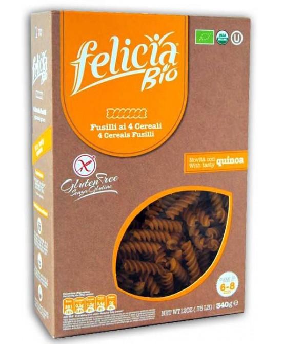 Felicia Bio Pasta Multicereali Fusilli Senza Glutine 340g - Farmacento