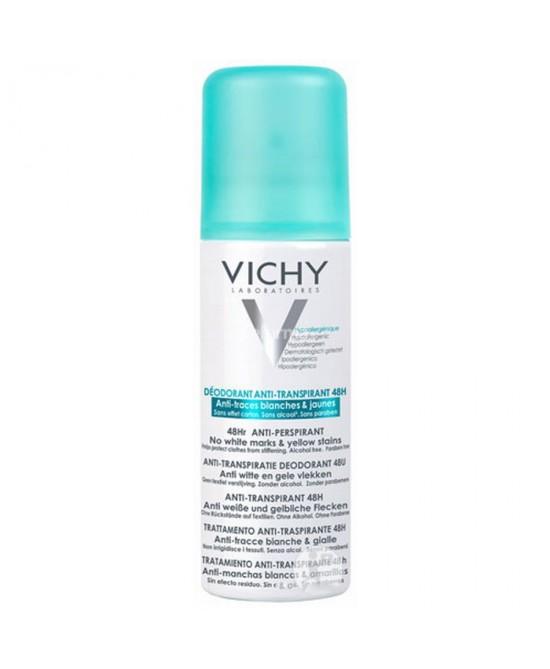 Vichy Deodorante Spray Regolatore Anti-Traspirante 48h Anti-Tracce 125ml - Zfarmacia