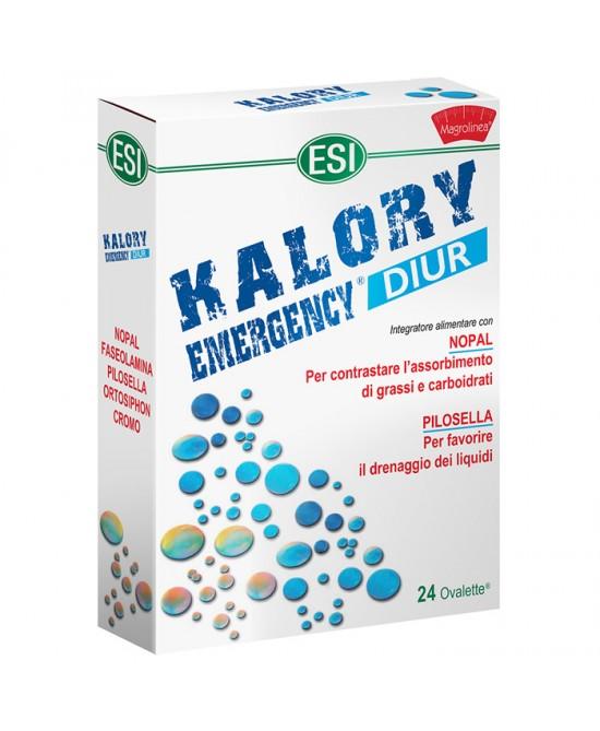 Esi Kalory Emergency Diur 24 Ovalette - La tua farmacia online