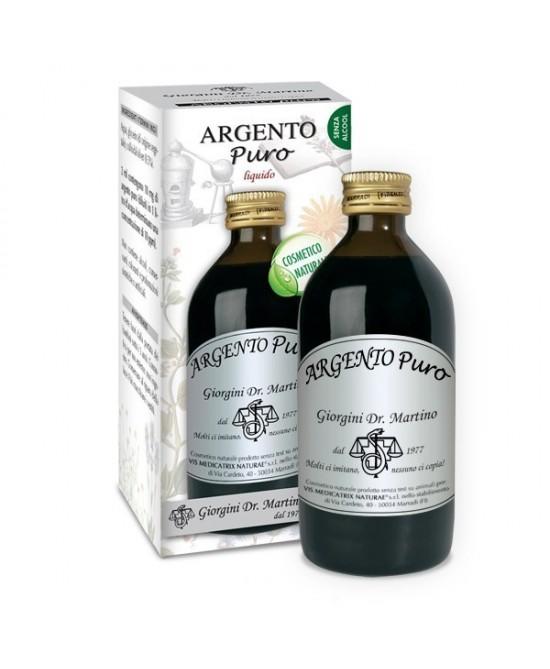 Dr. Giorgini Argento Puro Liquido Analcolico 200ml - FARMAEMPORIO