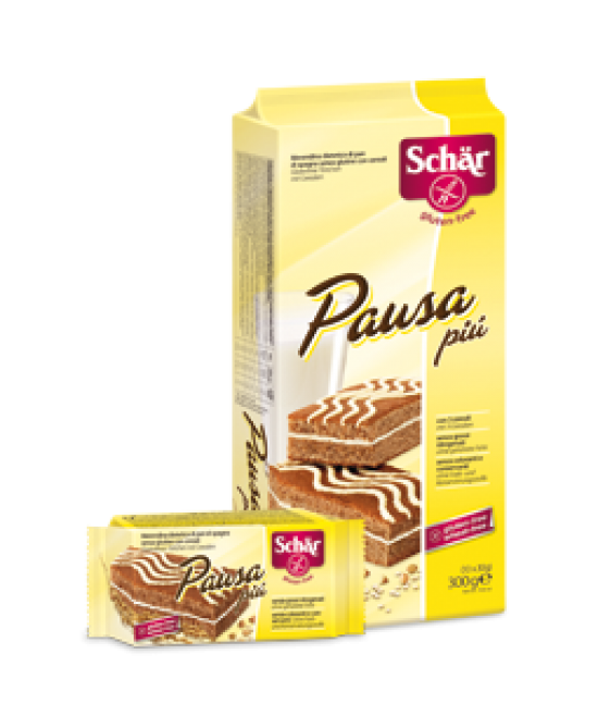 Schar Pausa Più Merendina Di Pan Di Spagna Senza Glutine Con Cereal 300g - Zfarmacia