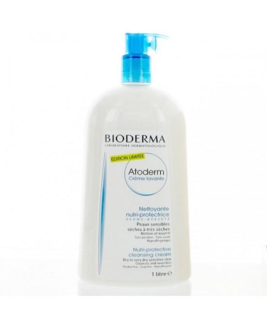 Bioderma Atoderm Creme Lavante Douche 1L - Farmacento