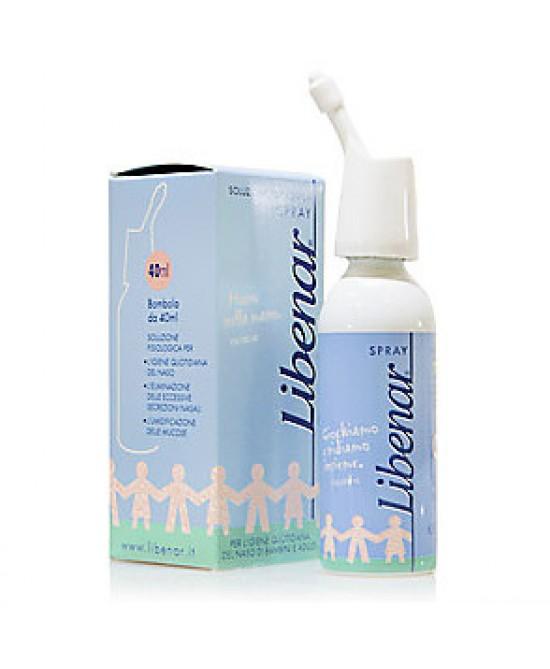 Libenar Spray Soluzione FIsiologica Igiene Naso 40ml - La tua farmacia online