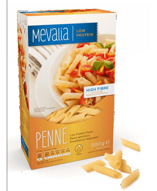 Mevalia Pasta Aproteica Penne 500g - Farmastar.it