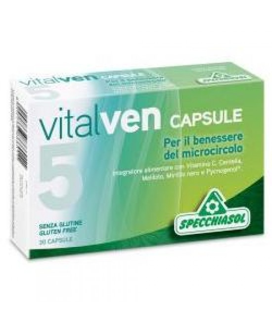 Vitalven5 30cps - Farmacia 33