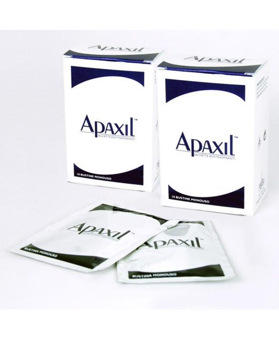 Apaxil Salviette Antitraspiranti 10 Bustine Monouso - La tua farmacia online