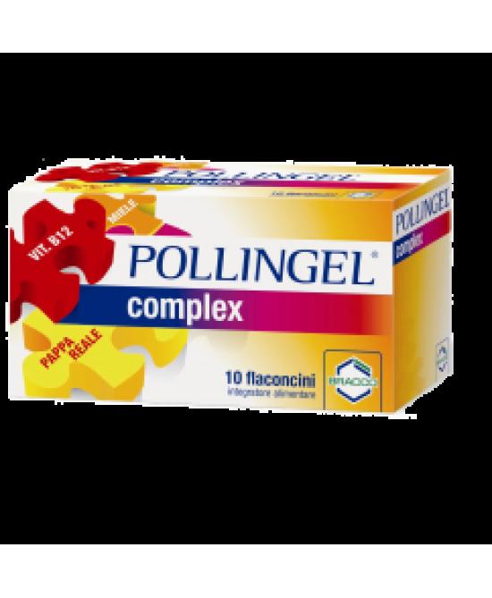 Bracco Pollingel Complex  Integratore Alimentare 10 Flaconi Da 10ml - Farmaciasconti.it