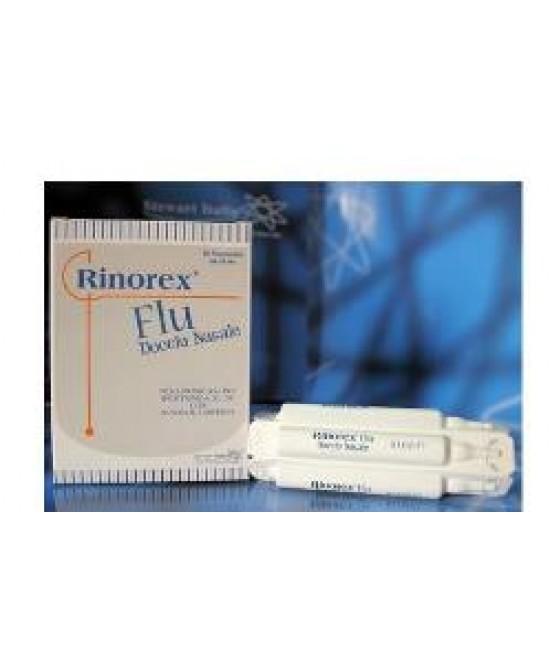 Rinorex Flu Doccia Nasale 10fl - Farmacia 33