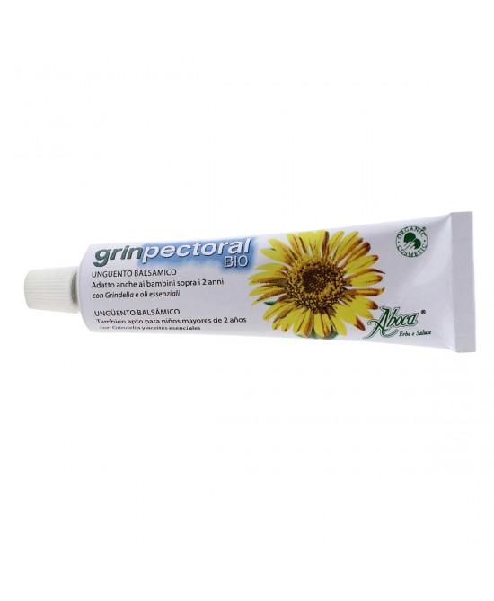 Aboca GrinPectoral Bio Unguento Balsamico 30g - Antica Farmacia Del Lago