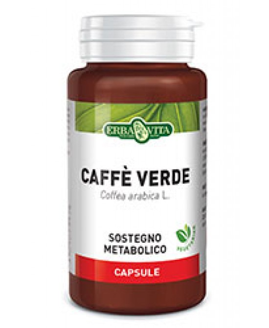 ErbaVita Capsule Monoplanta Caffe' Verde Integraotore Alimentare 60 Capsule - Farmastar.it