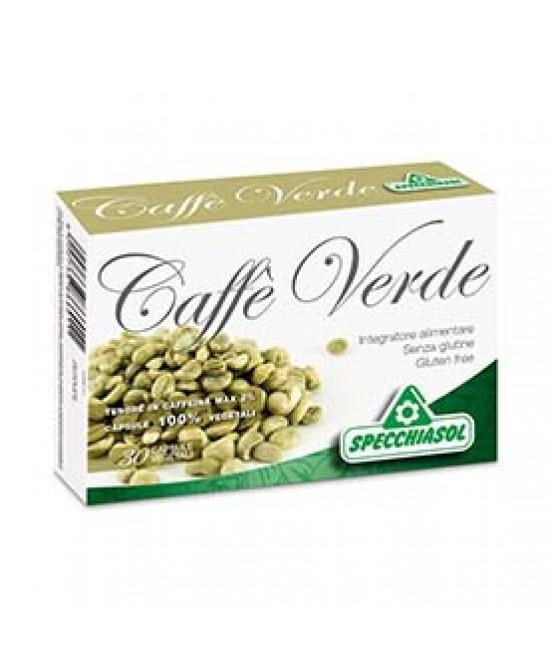SpecchiaSol Caffe' Verde 30 capsule vegetali - Farmacia 33