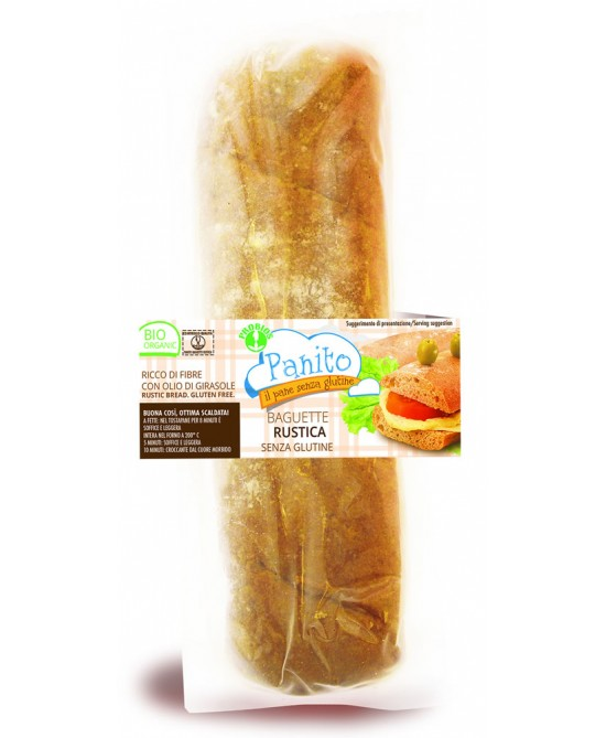 Panito Baguette Rustica BIologico Senza Glutine 180g - FARMAEMPORIO