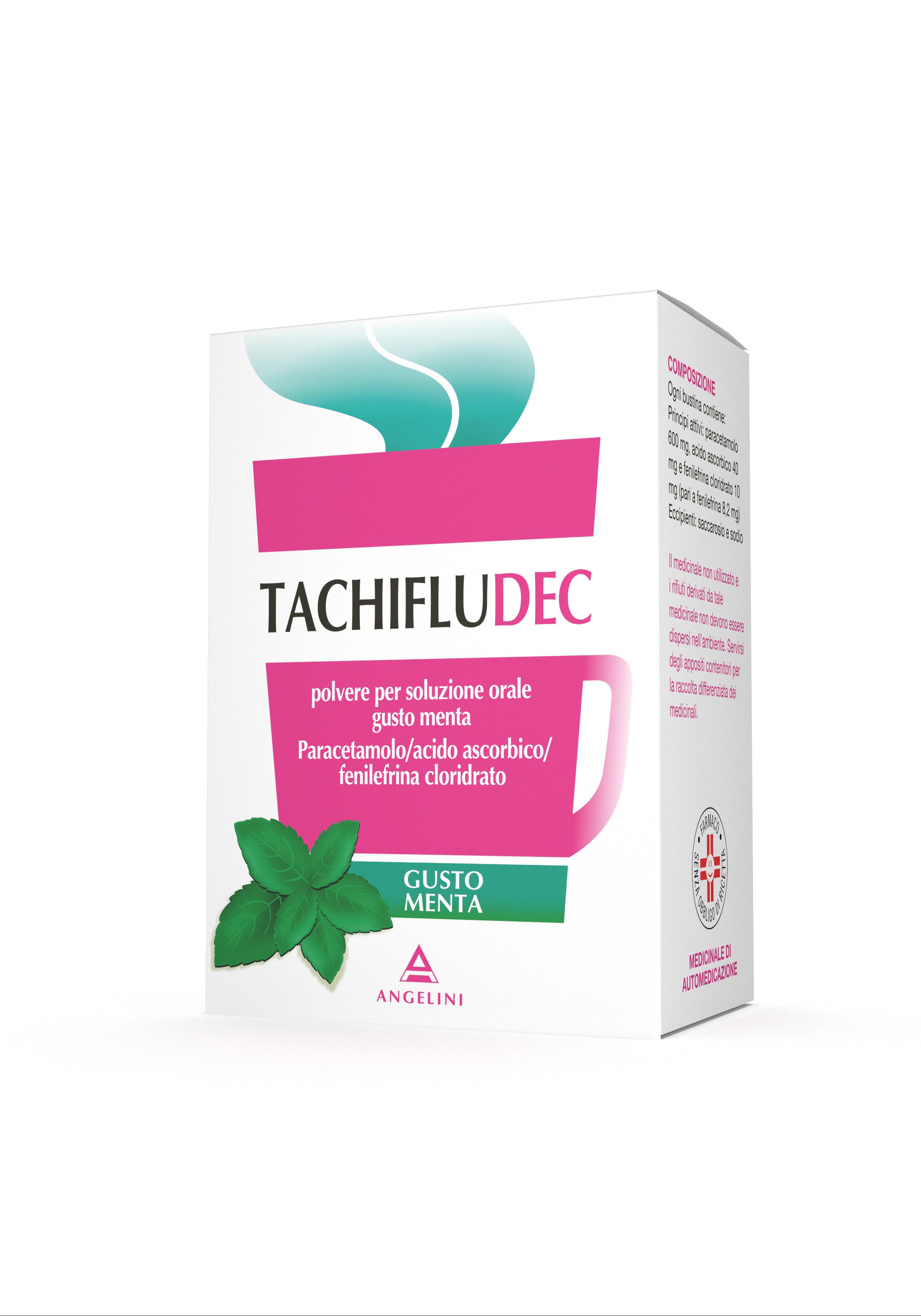 TACHIFLUDEC*10BUST MENTA - La tua farmacia online