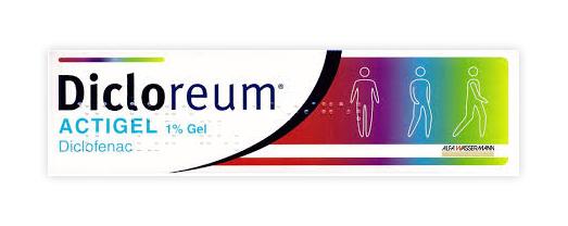 DICLOREUM ACTIGEL*GEL 100G 1% - Farmacento