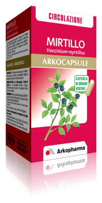 Arkocapsule Mirtillo Integratore Microcircolo 90 Capsule - La tua farmacia online