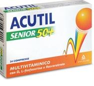 ACUTIL MULTIVITAMINICO SENIOR 50+24 COMPRESSE - Farmacia 33