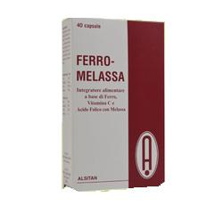 FERRO MELASSA 40 CAPSULE - La tua farmacia online