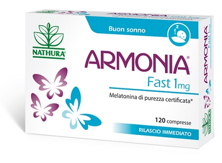 ARMONIA FAST 1 MG MELATONINA 120 COMPRESSE - Farmamille