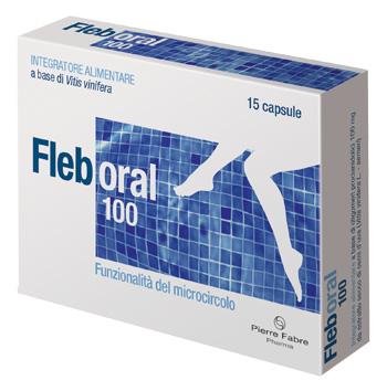 FLEBORAL 100 15 CAPSULE - Zfarmacia